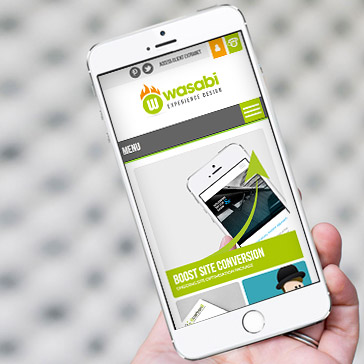 wasabi design mobile